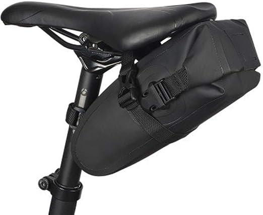 N/V Bolsa Bicicleta Impermeable, Bolsa Bici Manillar Ajustable Plegable, Alofrjas Bicicleta Impermeable Multifuncional Bolsas Sillín Bolso 1L para Asiento Tresero De ...