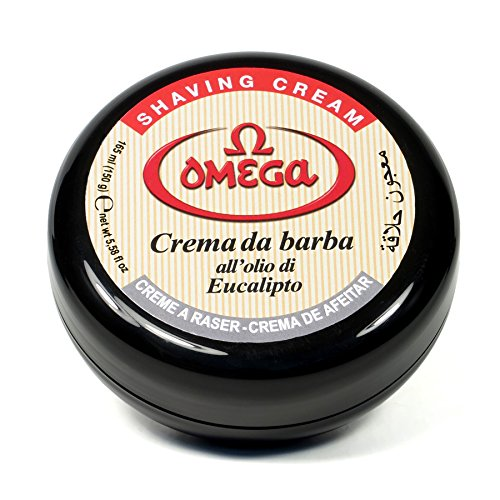 Omega 46001 Shaving Cream in (Bowl In Cream)