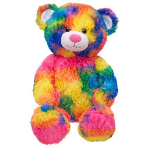 Build a Bear Workshop Tropicolor Teddy Bear, 17 in. (Speciality Gift Baskets)