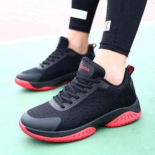 De De Chaussures À A Chaussures Xue 41 De Sport Basket en Ball Respirantes Hommes Baskets Course Chaussures Basses Chaussures Antidérapantes Lacets pour Mesh Légères zwqqH5Bd