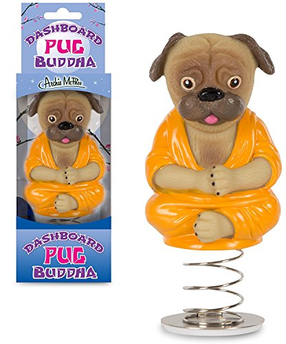 Accoutrements 12734 Dashboard Pug Buddha