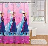 Disney Frozen Snowflake Sisters Shower Curtain