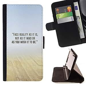 BullDog Case - FOR/Sony Xperia Z1 L39 / - / sand desert mist yellow blue n nature /- Monedero de cuero de la PU Llevar cubierta de la caja con el ID Credit Card Slots Flip funda de cuer