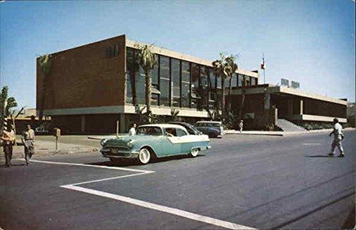 (Post Office and Telegraph Buildings Tijuana, Mexico Original Vintage Postcard )