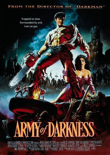 Image result for army of darkness movie poster
