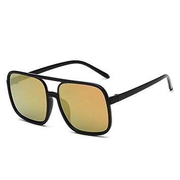 Liuao Diseño de Marca Hombres Gafas de Sol Hombres Espejo de ...