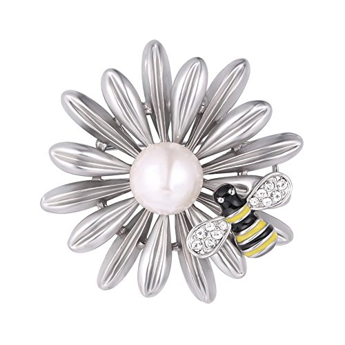 h Platinum Plated Insect Series Pin Bouquet Wedding Accessories ()