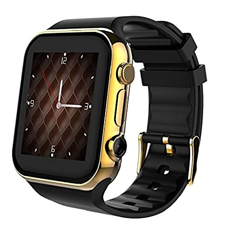 Scinex SW20 Smart Watch for Android and iPhone with 16GB Memory, Pedometer Smartwatch for Men & Women, Sleep Monitor Watch, Compatible with Cell ...