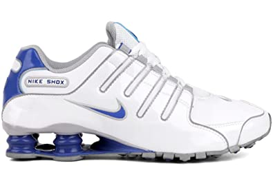 8200c251a799 Nike Shox NZ Mens Running Shoes 378341-140 White 7.5 M US