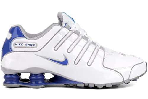 finest selection 6417f ea080 ... ireland nike shox nz mens running shoes 378341 140 white 8.5 m us 9bd40  8aeee