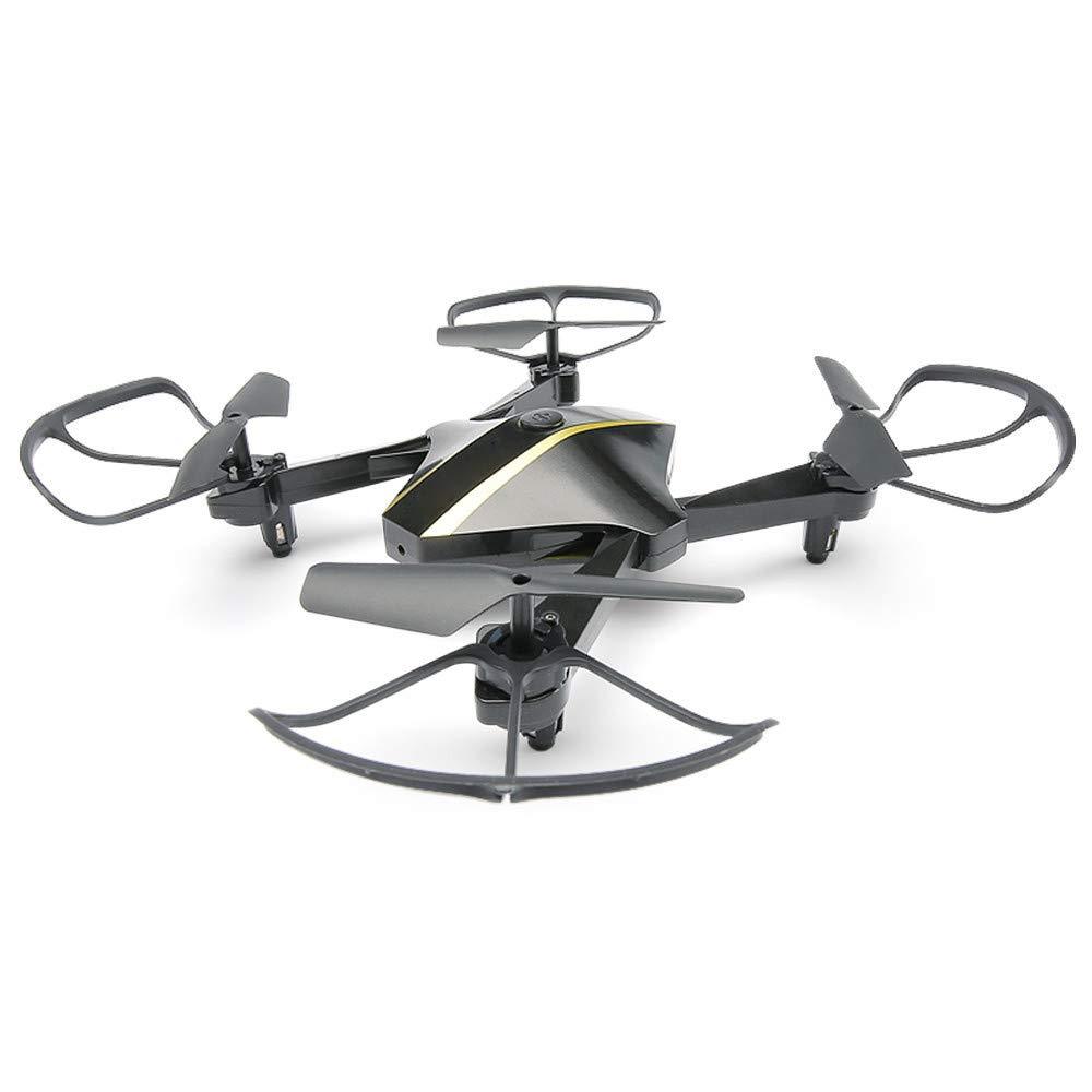 Drohne 720P HD WiFi Camcorder FPV RC Drohne Quadcopter Suspension Höhe Halten Headless-Modus-Funktion und Hubschrauber Schwarz