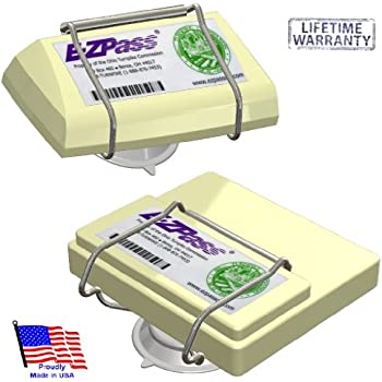 JL Safety EZ Pass-Port -Indestructible Holder fits Mini and OLD size EZ Pass (not the Flex or HOV switch models), I Pass, I Zoom, PalPass hard case and FasTrak transponders. Holder only. Made in USA