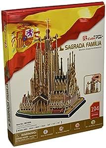 Amazon.com: Sagrada Familia 3D Puzzle 194-Piece: Toys & Games