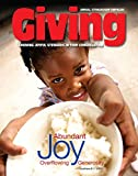 img - for Giving: Growing Joyful Stewards in Your Congregation Magazine Volume 14 book / textbook / text book