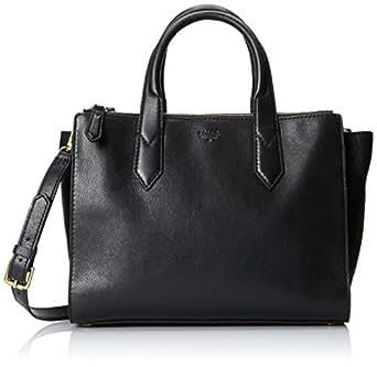 Fossil Knox Shopper Shoulder Bag,Black,One Size