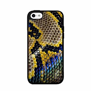 Colorful Snakeskin- TPU RUBBER SILICONE Phone Case Back Cover iPhone 5c