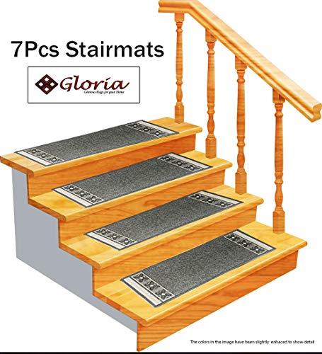 Stair Outdoor - Gloria Rug Stair Treads Non Slip - Outdoor Skid Resistant Stair Tread (8.5