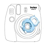 Lalonovo Owl Style Close Up Lens with Self-portrait Mirror for Fujifilm Instax Mini 8 Instant Film Camera and Polaroid 300 Camera (Blue)