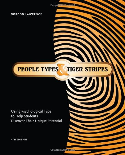 People Types And Tiger Stripes  Using Psychological Type To Help Students Discover Their Unique Potential