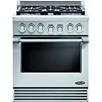DCS RGV305N Professional 30 Stainless Steel Gas Sealed Burner Range - Convection