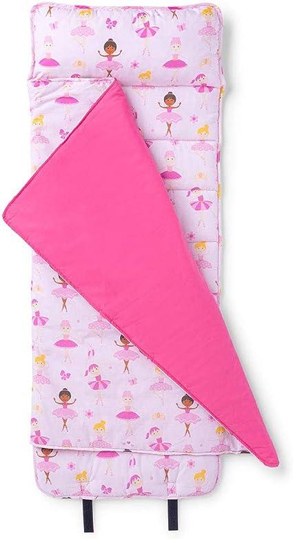 Wildkin Original Nap Mat with Pillow for Toddler Boys and Girls Measures 50 x...