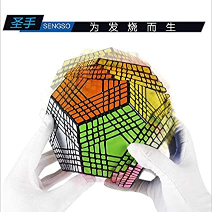 1 Set Replacement Vinyl Stickers for MF8 Teraminx Dodecahedron Puzzle Cube New