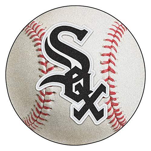 FANMATS MLB Chicago White Sox Nylon Face Baseball Rug