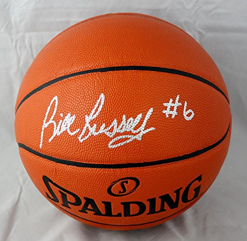 Bill Russell Autographed Official NBA Spalding Basketball- JSA W Authenticated Spalding Autograph