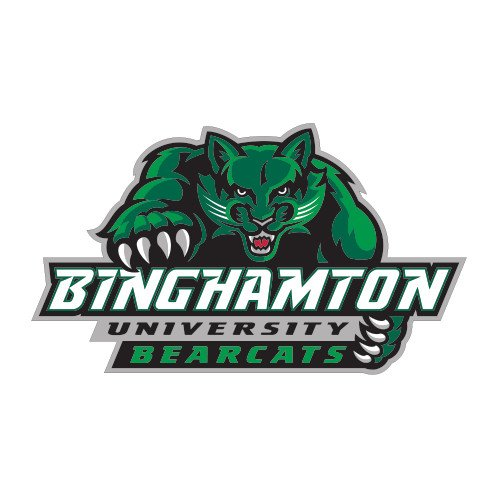 Binghamton Large Decal 'Binghamton University Bearcats Official Logo' by CollegeFanGear