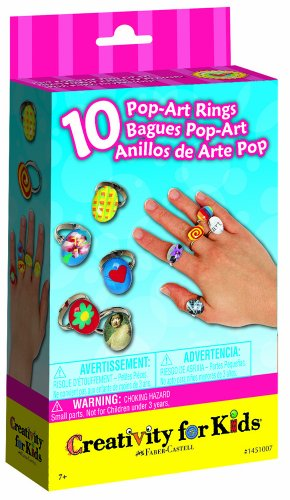 Creativity For Kids, Pop Art Rings, 10 (Do It Your Own Halloween Costume)
