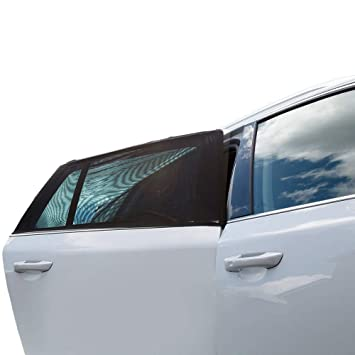 Car Window Shade Two Pack Of Universal Car Side Window Sunshades Breathable Use