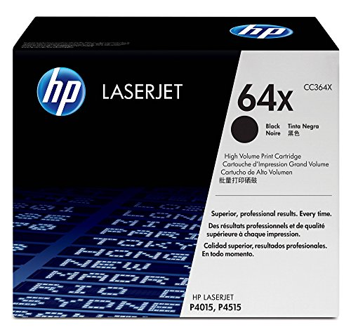 (HP 64X (CC364X) Black High Yield Original Toner Cartridge)