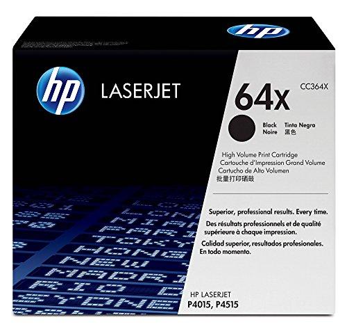 (HP 64X (CC364X) Black High Yield Toner Cartridge for HP LaserJet P4015 P4515)