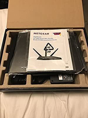 NETGEAR R7000 Nighthawk AC1900 Dual Band Wireless Gigabit Smart Home Router