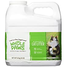 Whole Foods Market Whole Paws Scoopable Cat Litter, 14 lb