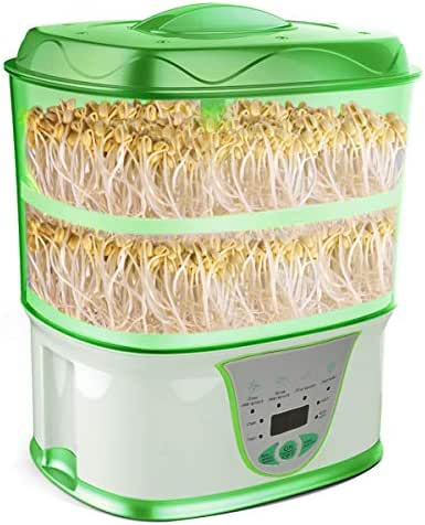 Automatic Seed Sprouter Machine Auto Bean Sprout Grower Yogurt Natto Rice Wine Maker BPA Free