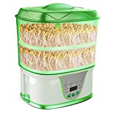 auto sprouter - Automatic Seed Sprouter Machine Auto Bean Sprout Grower Yogurt Natto Rice Wine Maker