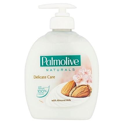 Palmolive Productos Naturales De Cuidado Delicado Lavado De Manos Líquido Nutritivo Con Leche De Almendras (