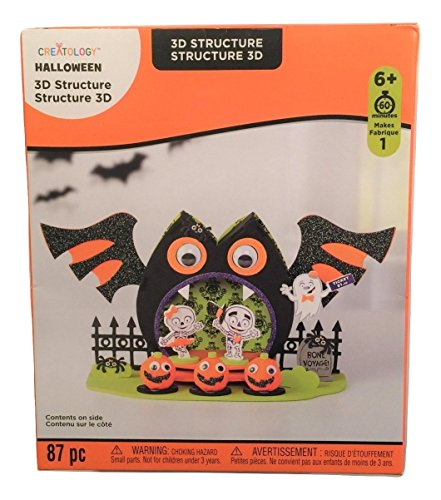 Creatology Halloween 3D Activity Kit ~ Owl Stage (87 Pieces) -