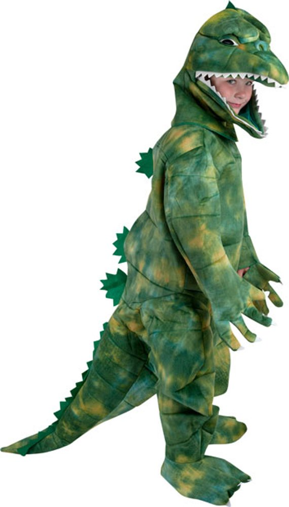 Amazon.com: Child\'s Godzilla Costume, Size Youth Small 4-6: Toys ...