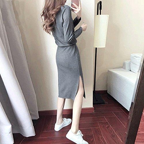 un En Larga De Larga sg La Manga Dhg Vestido Del Mujer Camisa Primavera Parte WSq7wnYP