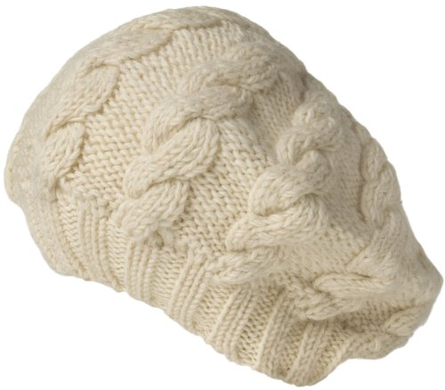 Nirvanna Designs CH208 Cable Beret with Fleece