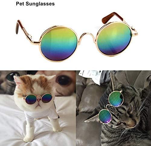 N//V Dise/ño de Moda Peque/ño Mascotas Perros Gatos Gafas Gafas de Sol Universal Protector Ojo Verano Pet Fotos Props