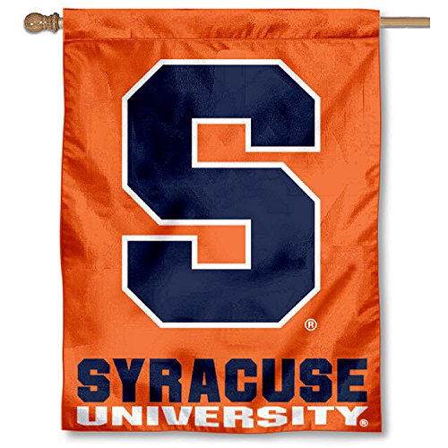 College Flags and Banners Co. Syracuse University Orange House Flag by College Flags and Banners Co.