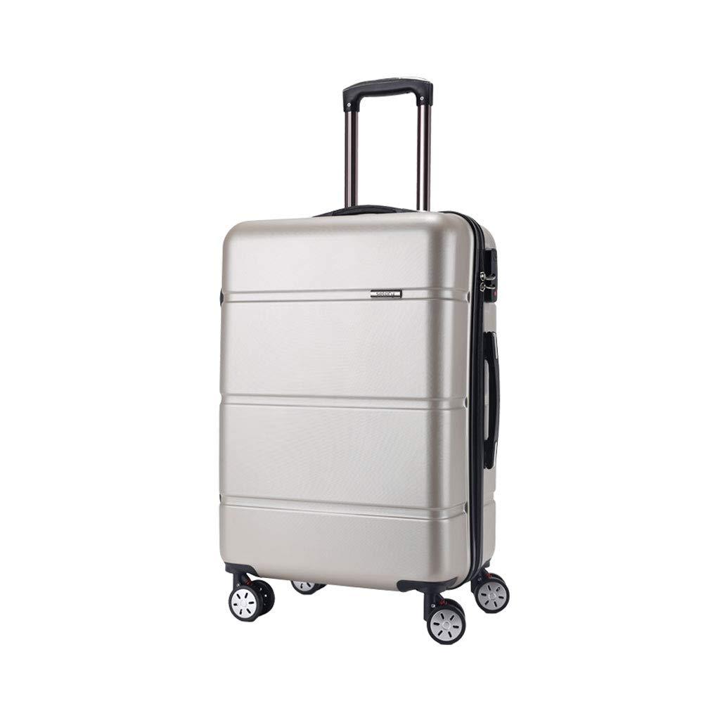 ハードシェルトロリートラベルケーススーツケースハードキャビンハンド荷物4ホイール - 伸縮ハンドルはあらゆる方向に動きます伸縮自在、29 * 43 * 65 Cm  3# B07MPF482L