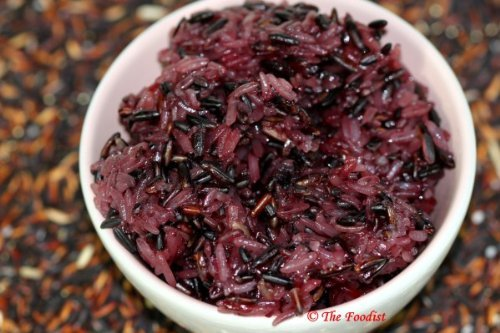 Raitip Thai Black Glutinous Organic Rice 500 G