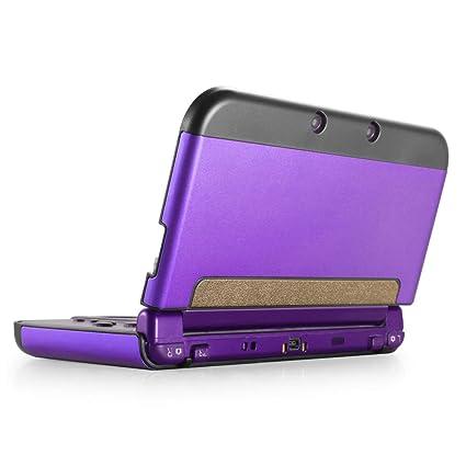 Carcasa rígida de plástico y aluminio para Nintendo 3DS