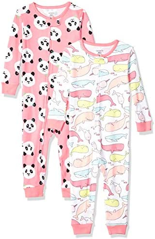 Carters 2 Pack Cotton Footless Pajamas product image