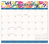 2019 Magnetic Floral Cute Monthly Desk Calendar Pad Aug'18-Dec'19
