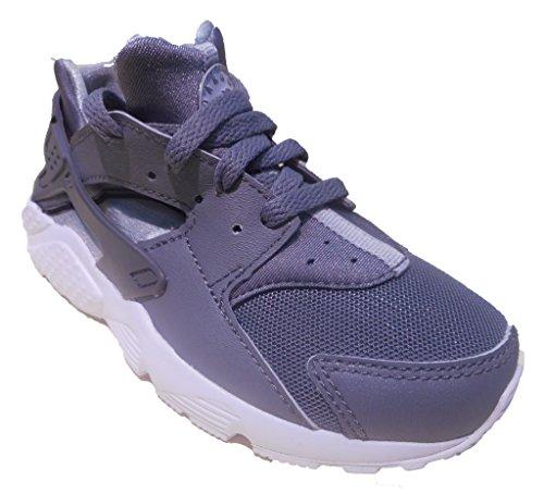 Stock Mens Nike (NIKE Huarache Run PS CoolGrey/White 704949-012 (Size: 11C))
